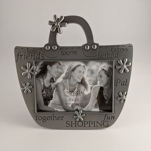 3/18 Fetco Pewter Best Friends Picture Frame